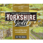 Taylors of Harrogate Yorkshire Gold 80 Tea Bags (250g)