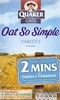 Quaker Oatso Simple 297g