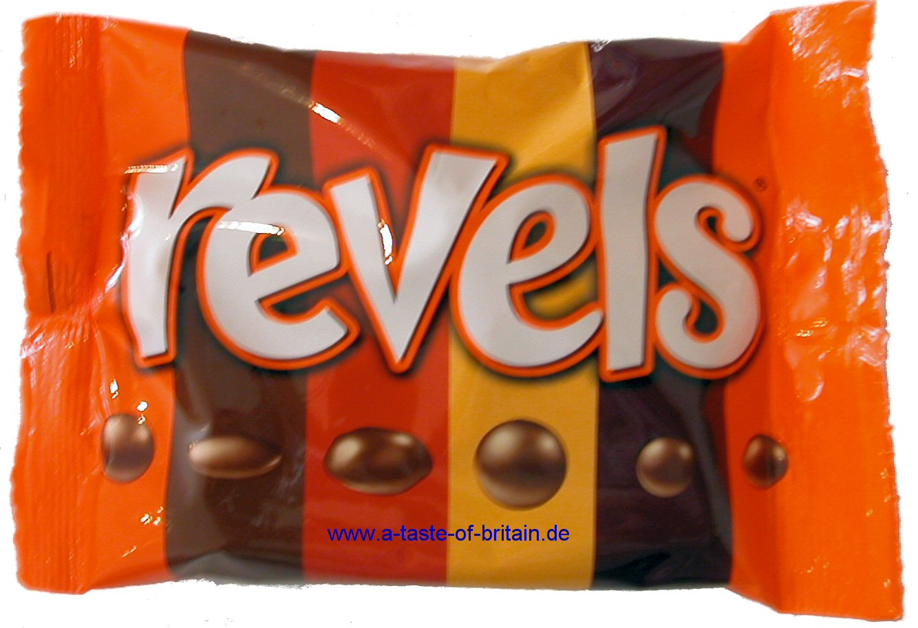 Revels 126g - A Taste of Britain Canned Food