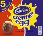 Cadbury Creme Egg 5 Pack (197g)