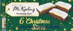 Mr Kipling Christmas Cake Slices 6 Stück