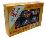 Tunnock's Milk Chocolate Tea Cakes 6's (6x24g)