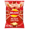 Walkers Ready Salted 6 Packungen (6x32,5g)